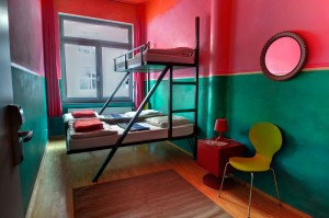 Spezial Bett - Heart of Gold Hostel Berlin