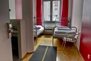 Tvåbäddars med dusch - Heart of Gold Hostel Berlin