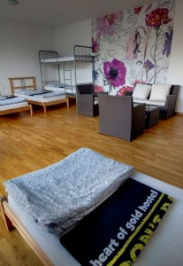 6-Bettzimmer - Heart of Gold Hostel Berlin