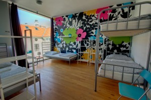 4 Bett Zimmer - Heart of Gold Hostel Berlin