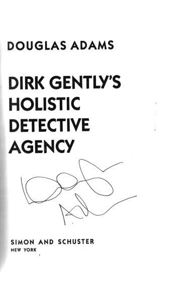 Dirk Gently - firmado