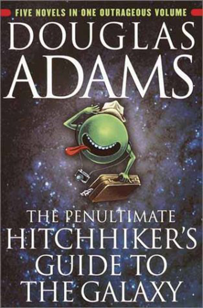 The Penultimate Hitchhiker's Guide To The Galaxy