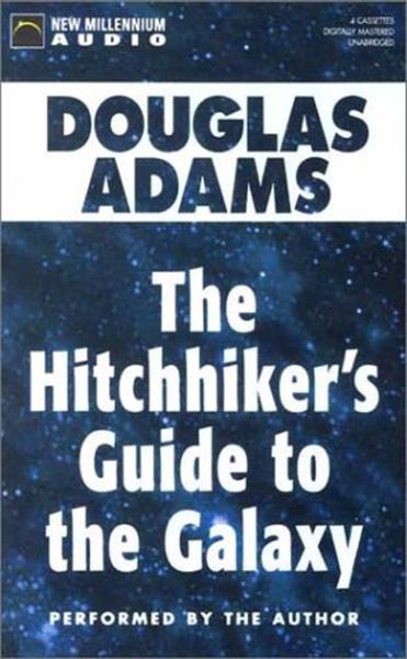 Guía del autoestopista galáctico - audiolibro