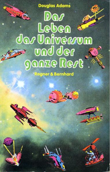 La vida, el universo y todo lo demás - alemán